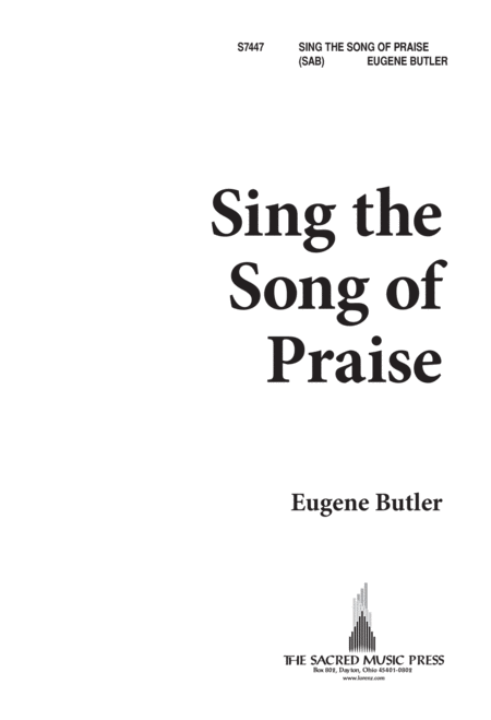 Sing the Song of Praise