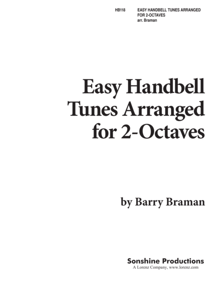 Easy Handbell Hymn Tunes
