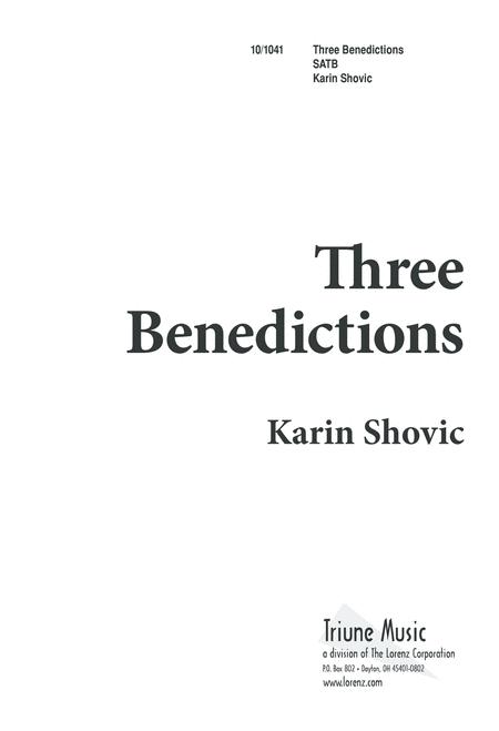 Three Benedictions