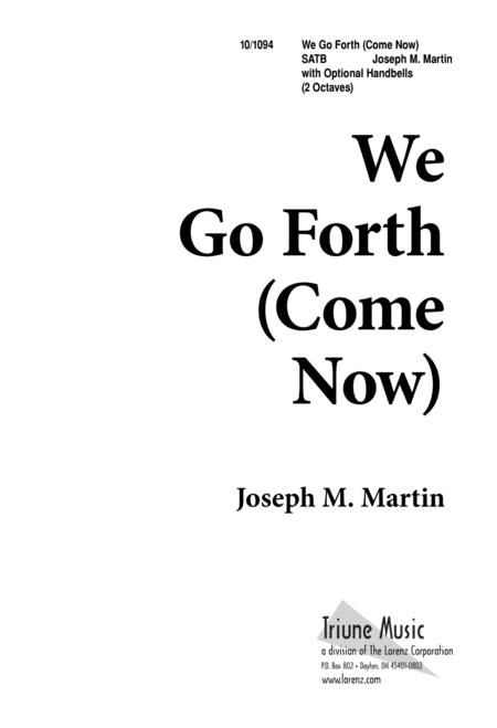 We Go Forth