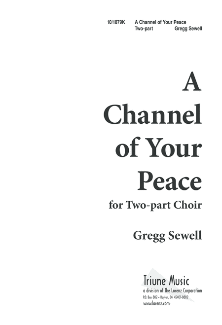 A Channel of Your Peace