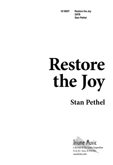 Restore the Joy