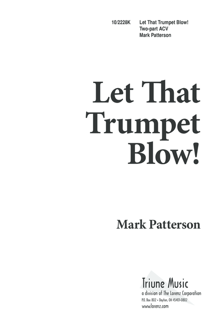 Let That Trumpet Blow