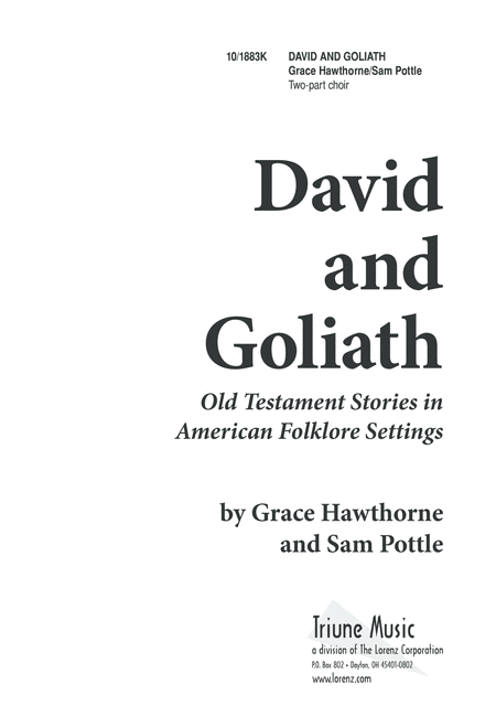 Five-Minute Musicals: David and Goliath