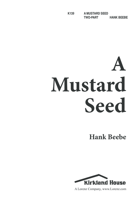 A Mustard Seed