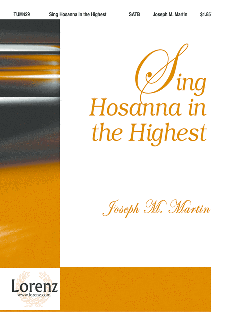 Sing Hosanna in the Highest