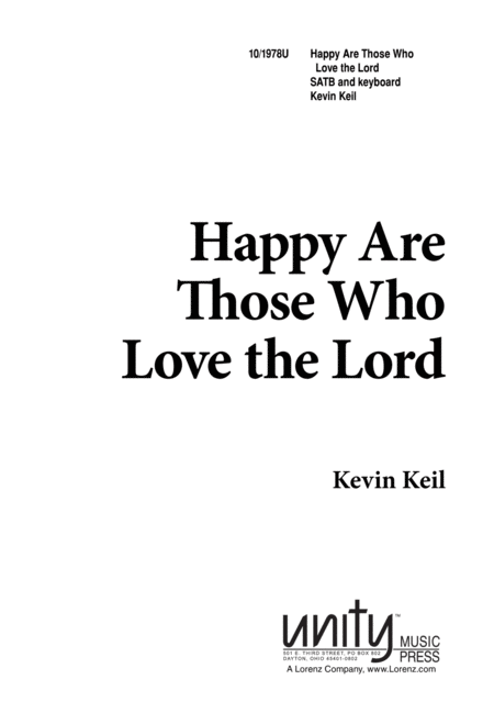 Happy are Those Who Love the Lord
