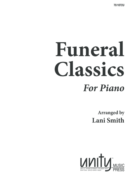 Funeral Classics for Piano