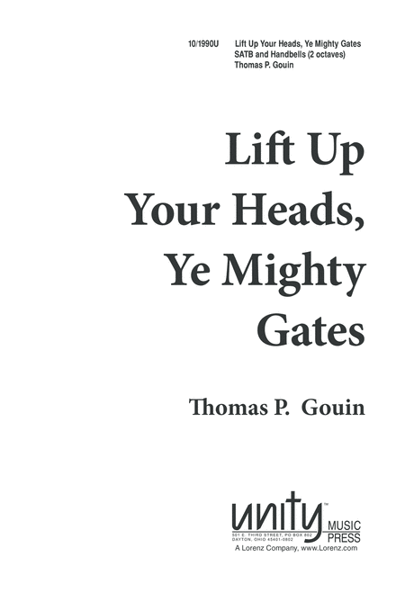 Lift Up Your Heads, Ye Mighty Gates