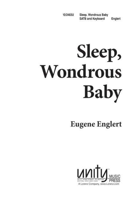 Sleep, Wondrous Baby