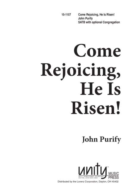 Come Rejoicing, He Is Risen