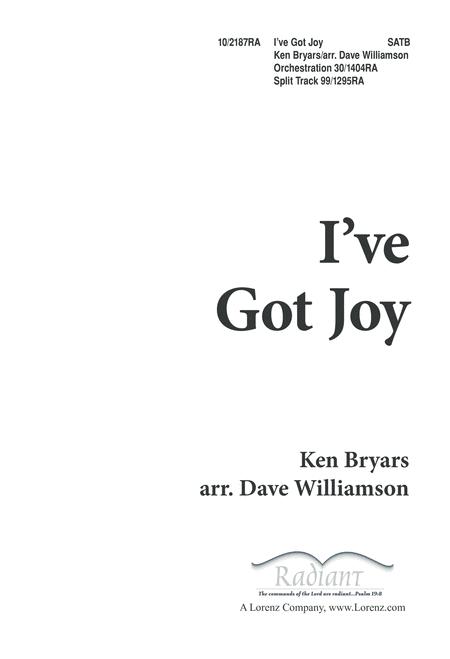I've Got Joy