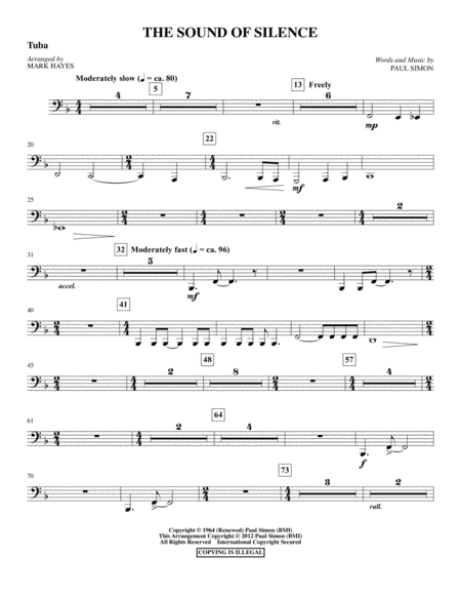 The Sound Of Silence - Tuba