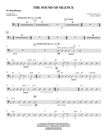 The Sound Of Silence - Bass Drum