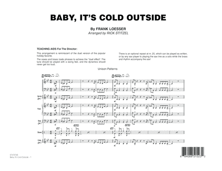 Baby, It's Cold Outside - Full Score