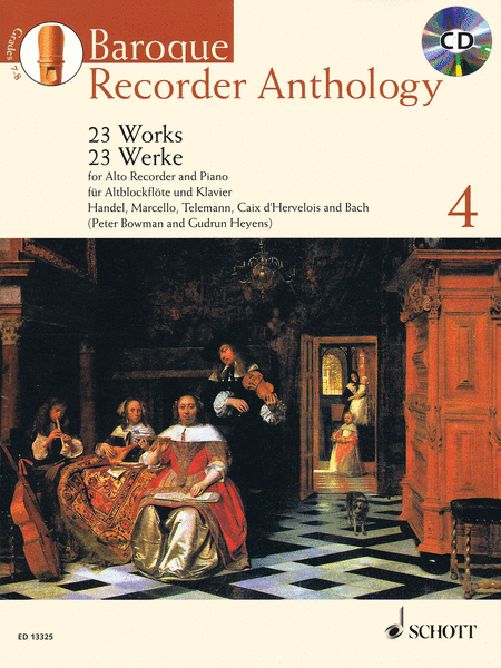 Baroque Recorder Anthology, Vol. 4