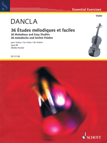 Charles Dancla - 36 Melodious and Easy Studies, Op. 84