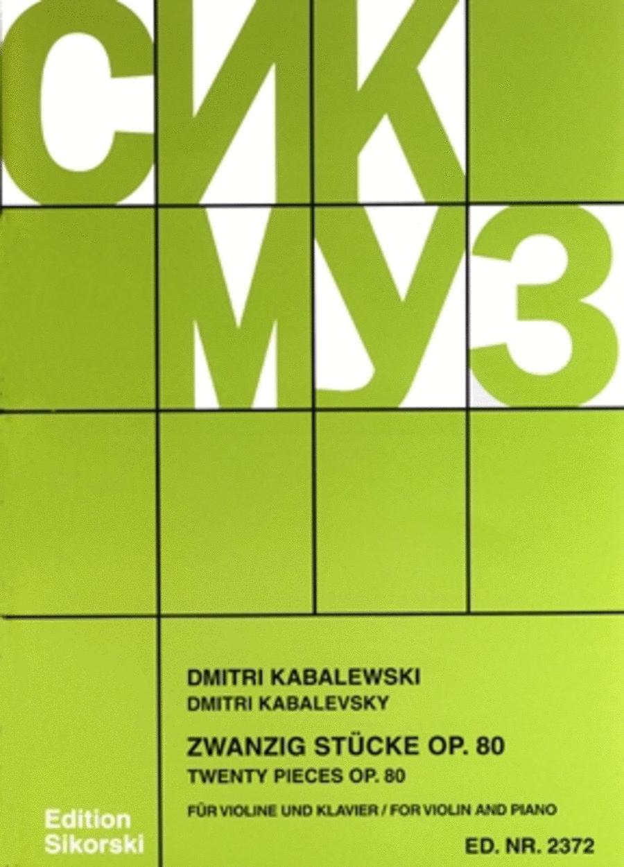 20 Pieces, Op. 80