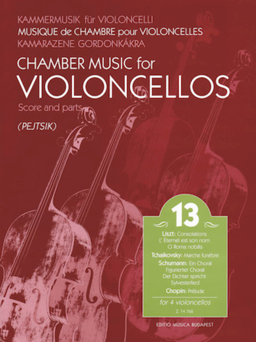 Chamber Music for Violoncellos, Vol. 13