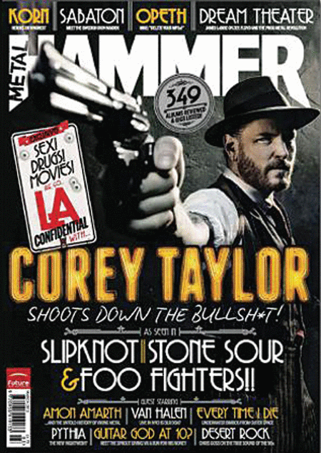 Metal Hammer Magazine - March 2012 Issue