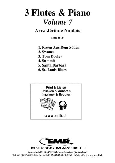 3 Flutes & Piano Volume 7