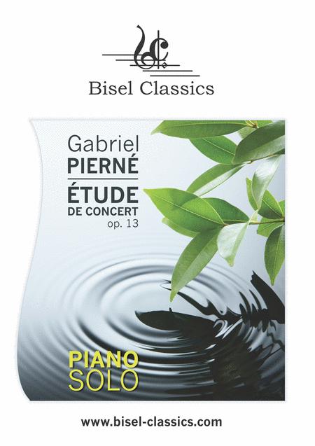 Etude de Concert, Op. 13