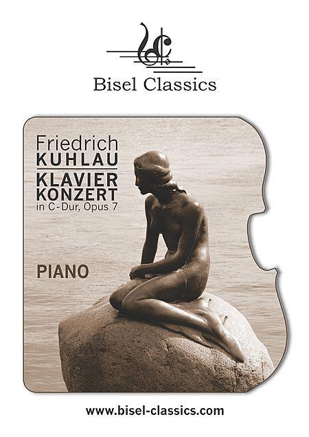 Klavierkonzert in C-Dur, Opus 7, Piano Part