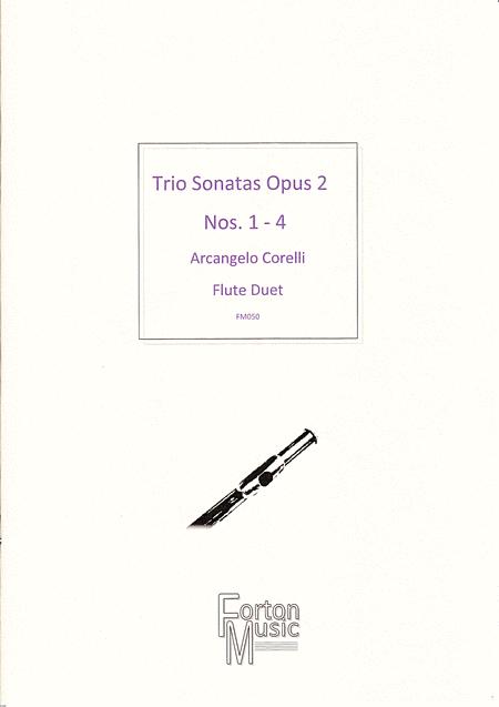 Trio Sonatas, Op 2 nos 1-4