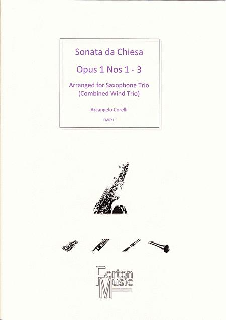 Sonata da Chiesa, Op 1 nos 1-3