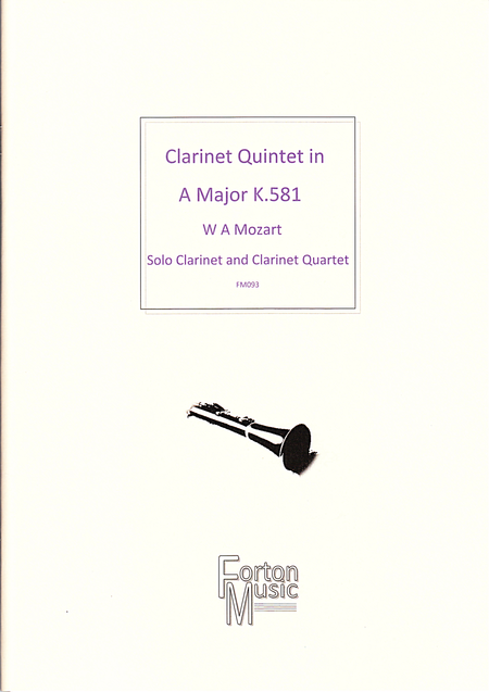 Clarinet Quintet in A major K581
