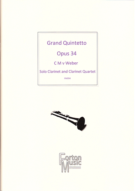 Grand Quintetto, Opus 34