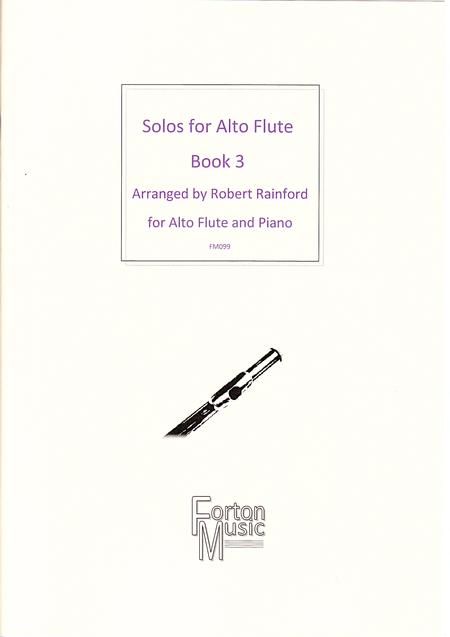 Solos for Alto Flute Book 3