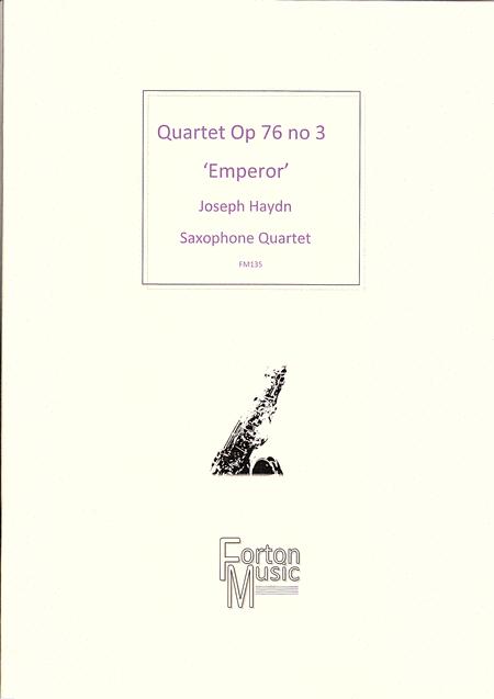 Quartet, Opus 76 no 3 'Emperor Quartet'