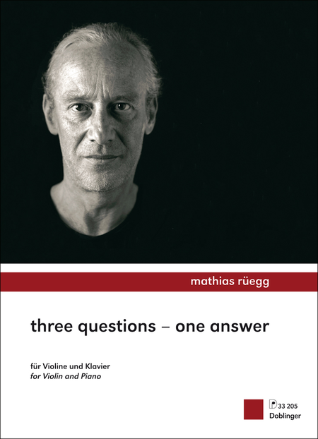 Three questions - one answer