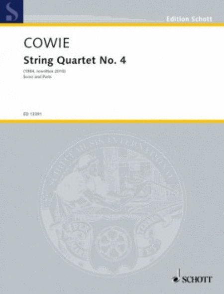String Quartet No. 4 Score And Parts