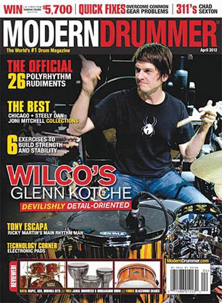 Modern Drummer Magazine - April 2012