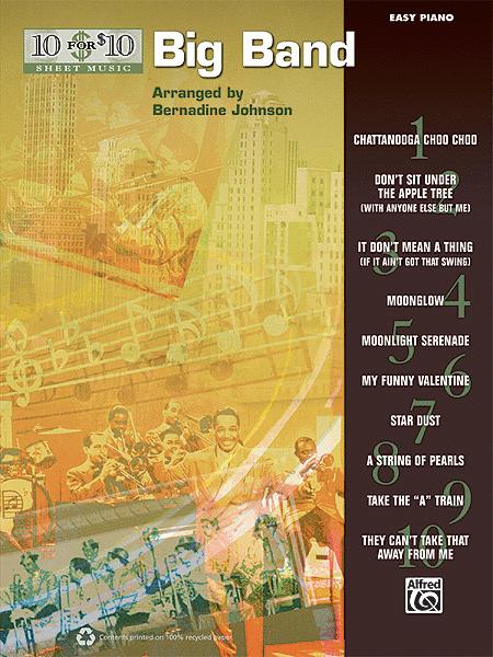 10 for 10 Sheet Music Big Band Classics