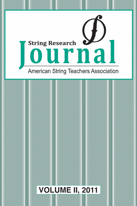String Research Journal 2011, Volume 2