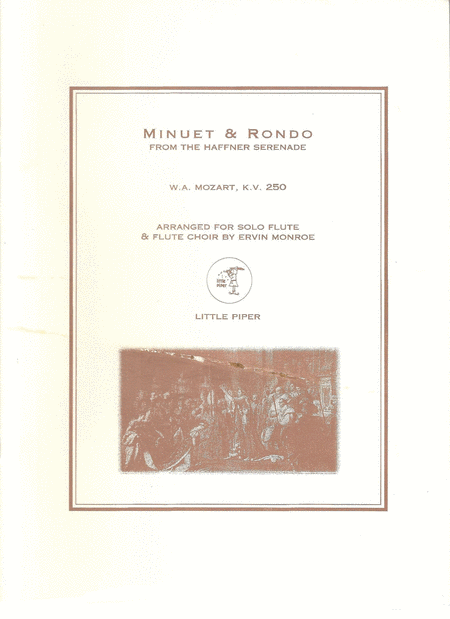 Minuet & Rondo from the Haffner Serenade