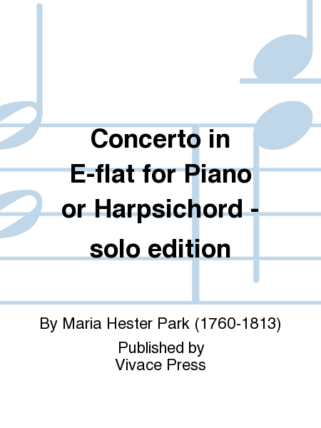 Concerto in E-flat for Piano or Harpsichord - solo edition