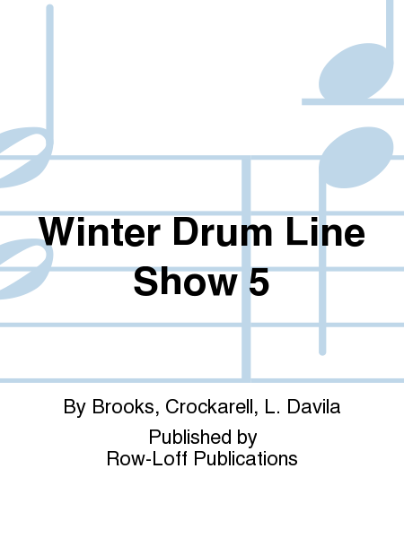 Winter Drum Line Show 5