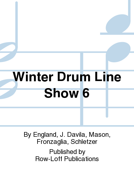 Winter Drum Line Show 6