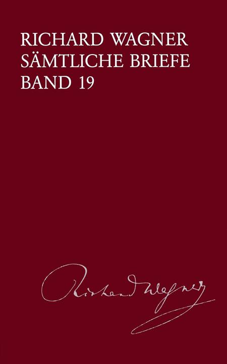 Samtliche Briefe Band 19. Briefe des Jahres 1867