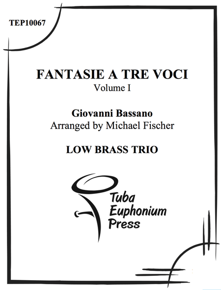 Fantasie a tre voci (fantasie for three instruments)