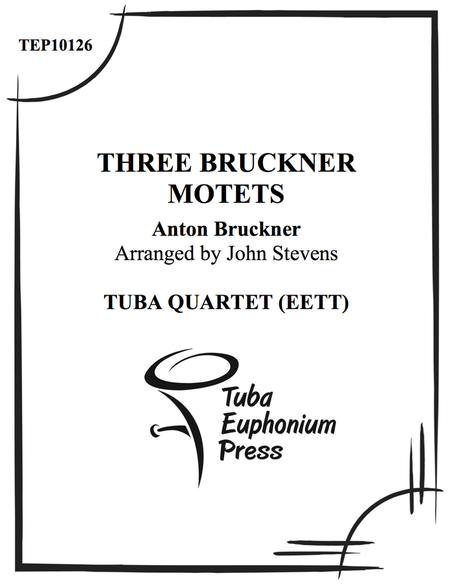 Three Bruckner Motets