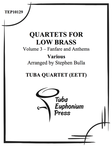 Quartets for Low Brass