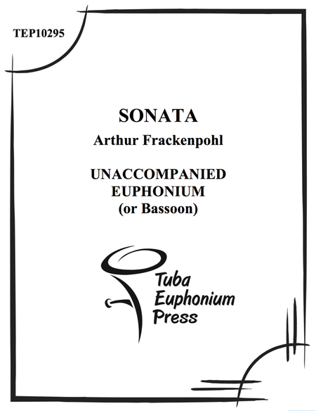 Sonata for Solo Euphonium