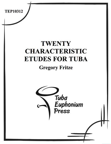 Twenty Charicteristic Etudes