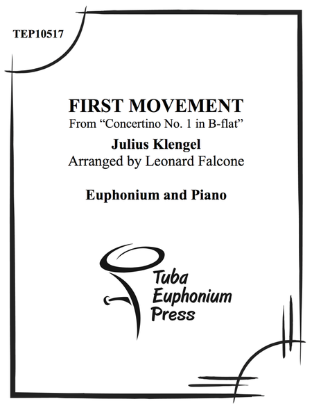 Concertino No. 1 in Bb Major First Movement