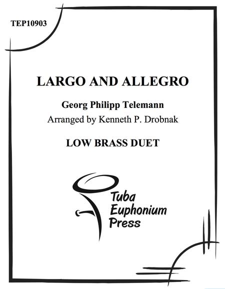Largo and Allegro